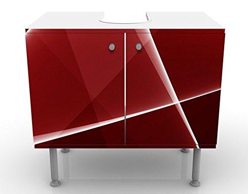 Apalis 54208 Waschbeckenunterschrank Red Reflection, 60 x 55 x 35 cm - 6