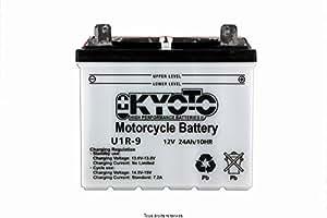 Batterie Moto KYOTO U1r-9 - Avec Acide L 196mm W 130mm H 184mm 12v 24ah Acide 1.80l