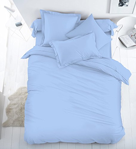 egyptian-cotton-200tc-extra-deep-40cm-fitted-sheet-by-sleepbeyond-king-light-blue
