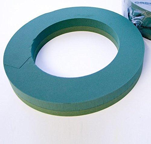 Blumen Oase Schaum Ring 40cm Durchmesser (Oase-blume-schaum)