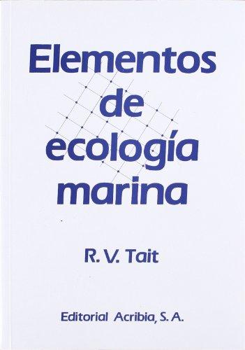 Elementos de ecología marina