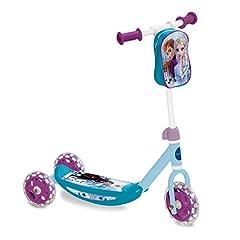 Idea Regalo - Mondo Toys-My First Scooter FROZEN II-Monopattino Baby bambina-3 ruote-borsetta porta oggetti inclusa-28222, Multicolore, S, 28222