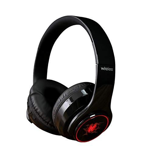 Hoch Hängende Licht (hahashop2 Bluetooth Kopfhörer in Ear mit Allen intelligenten Geräten Kompatibel mit Allen Smartphones Tragen eines hängenden LED-Licht-Bluetooth-Headsets)