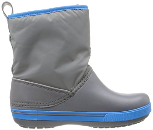 Crocs Crocband II.5 Gust Boot, Bottes Souples mixte enfant Noir (Charcoal/Ocean)