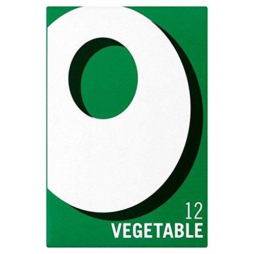 Oxo - 12 cubes de bouillons de légumes - lot de 8 boîtes de 71 g
