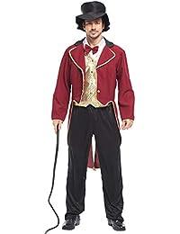 Yukeyy Costume da Cosplay in Costume da Circo Carnevale di Halloween Vestito  Spettacolo Teatrale 4c056e7ba56