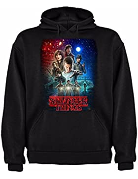 Sudadera de NIÑOS Stranger Things Serie Retro TV 80