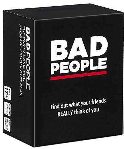 BAD PEOPLE Juego de Fiesta Que Probablemente no deberías Jugar