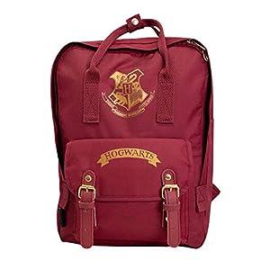 41VId5w%2BtoL. SS300  - Blue Sky Studios Harry Potter - Mochila infantil Hogwarts para niños y niñas, unisex, mochila de lona para acampar…