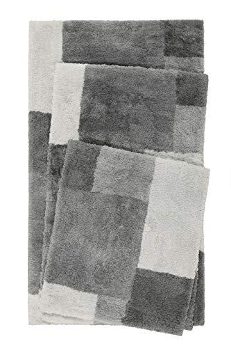 Badaccessoires Set aus Keramik 4 St/ück Zahnputzbecher Seifenschale und Seifenschale Seifenspender und Seifenschale erh/ältlich in 2 Designs Nero2