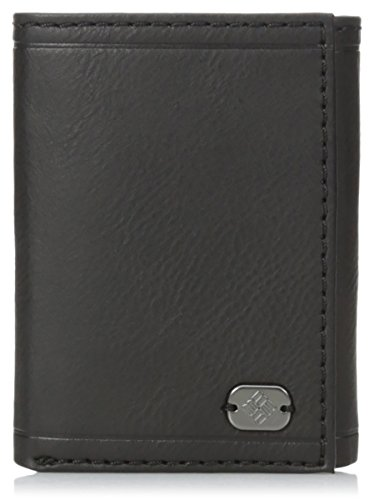 columbia-mens-beacon-rock-rfid-trifold-wallet-black
