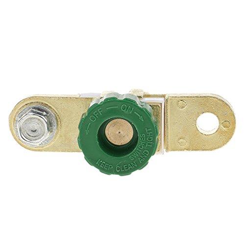 F Fityle 1 Stück Fahrzeuge Batterie Trenner Unterbrecher Trennschalter Batterieschalter für Autos, Boot, Motorrad