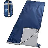 MoKo Saco de Dormir - Ultra-Ligero/Portátil Mochilero Impermeable Multifunción Sleeping Bag para