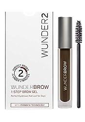 WUNDER2 WunderBrow Eye Brow Gel , Black Brown