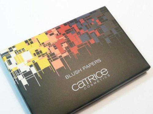 Catrice Cosmetics Limited Edition Geometrix Blush Paper Rougepapier Nr. C01 Red Farbe: Pastell Rosa Inhalt: 50 Blätter Rouge Blättchen für einen perfekten und natürlichen Glow. Ideal für die Handtasche. (Paper Blush)