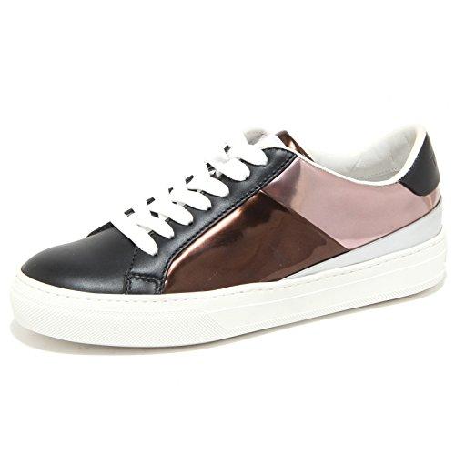 6365N sneaker TOD'S scarpe donna shoes woman nero bronzo Nero/Bronzo