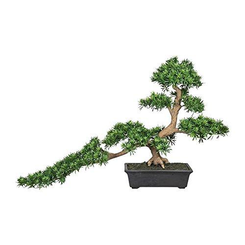 Bonsai Podocarpus Han-kengai ca 85/130cm, Kunstpflanze (994929262207)