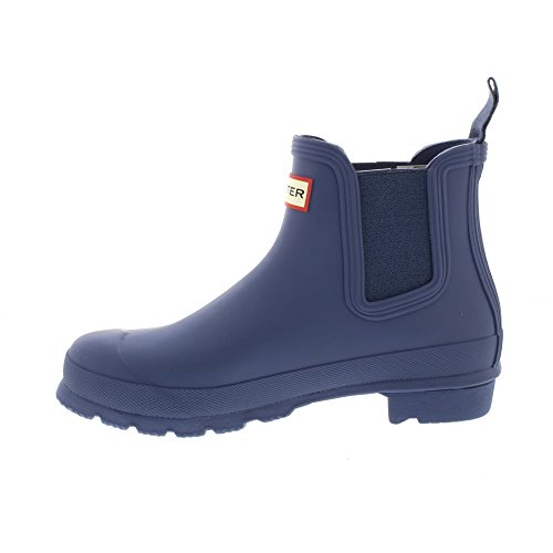 Hunter W Org Chelsea Rma, Stivali Donna Dark Earth Blue