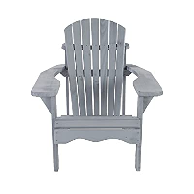 MACOShopde by MACO Möbel Gartenstuhl/Gartensessel Canadian Jumbo Adirondack Deck Chair aus Kiefernholz von MACOShopde by MACO Möbel - Gartenmöbel von Du und Dein Garten