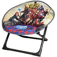 Preisvergleich für Disney Moon Stuhl Avengers, Stoff, Grau