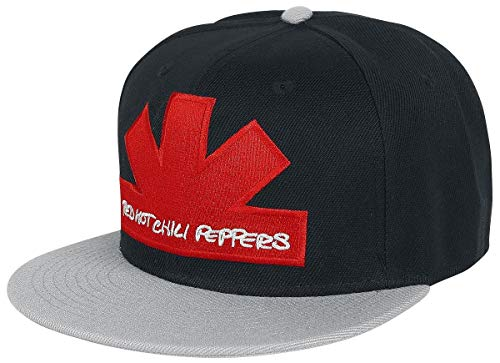 Red Hot Chili Peppers Asterisk Snapback-Cap Mehrfarbig (Red Hot Chili Peppers-logo)