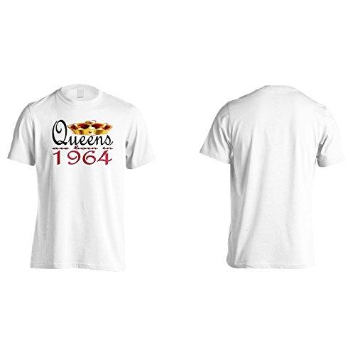 Nuove regine di design d'arte sono nate nel 1964 Uomo T-shirt b700m White