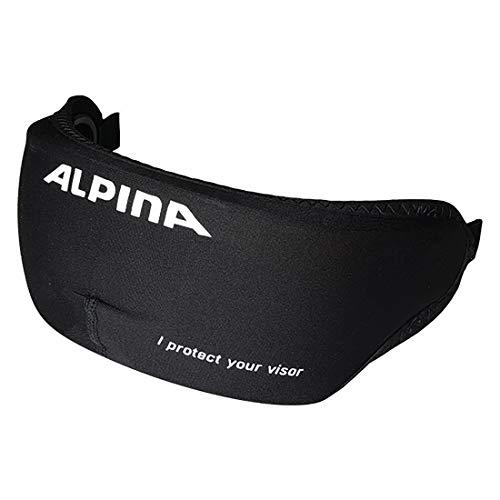 Alpina Unisex- Erwachsene Visor Cover Fahrradhelmzubehör, Black, One Size