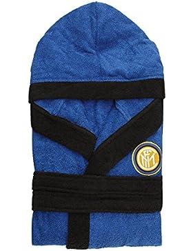 F.C. Inter N955 - Albornoz oficial del Inter para adulto, hecho algodón