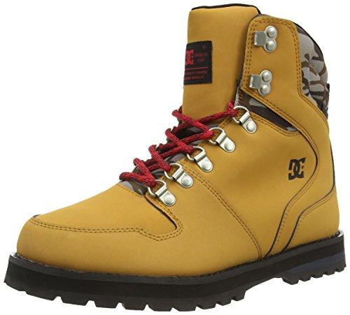 DC Shoes PEARY M, Stivaletti a gamba corta mod. Classics, senza imbottitura uomo, Beige (Beige (Camel/Black CB0)), 44.5