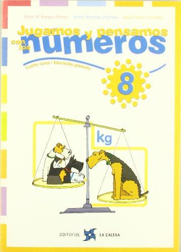 Jugamos y pensamos con los números 8