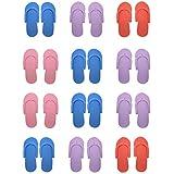 hysagtek 12pares, espuma, Chanclas, sandalias de playa de arena para ducha (y pedicura Color aleatorio