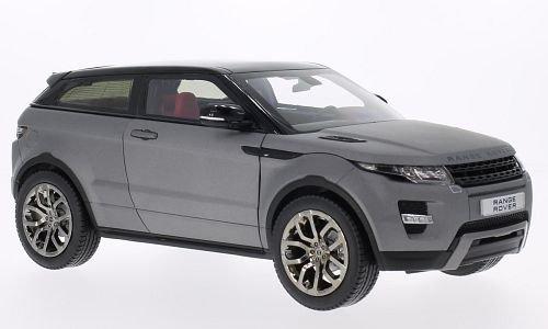 land-rover-range-rover-evoque-matt-grau-schwarz-modellauto-fertigmodell-welly-118