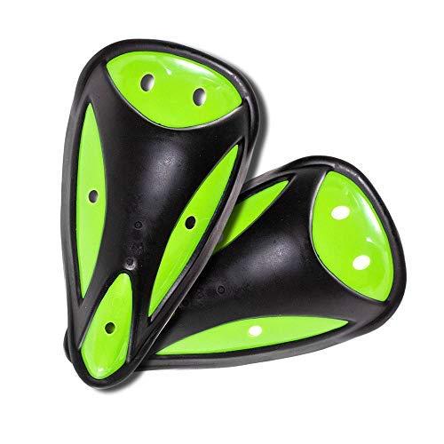 Golberg Sport-Becher - 2 Stück - groß, schwarz und grün Supporter - Baseball, Fußball und mehr