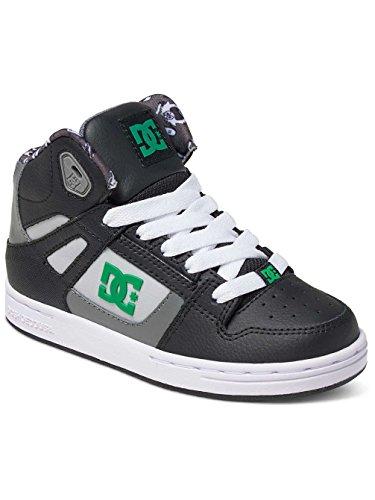 DC Shoes, Sneaker bambini Bianco/Nero/Verde