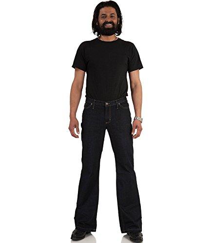 Jeans Bootcut Hose dunkelblau Star Cut Dark Denim Blau