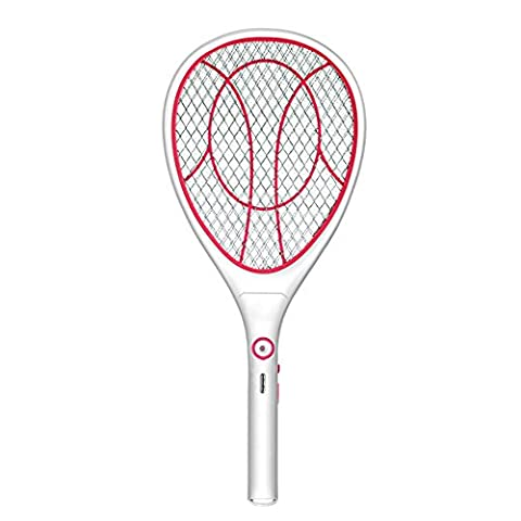 Electric Flies Killer, Soriace® Rechargeable Handheld Mosquito Zapper, 1000mA Mosquito Swatter Insects Fly Zapper Killer with Attrative LED Light