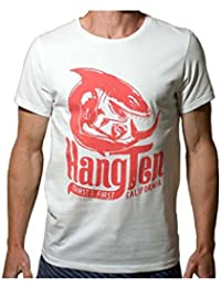 c8a856f2b Hang Ten Shark Tee in Finest 100% Organic Cotton with Orignal Print from  1973 White