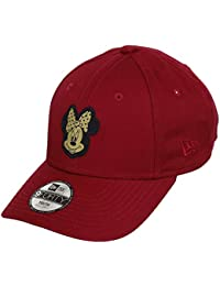 59a450ed2c128 A NEW ERA Era Minnie Mouse Red Gold Character 9Forty Velcroback Cap Toddler  Kleinkind