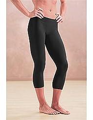 Fortuning's JDS® Filles & dames noires anti-UV jambières de natation Yoga de plongée short