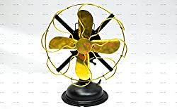 Sailors Art Antique Look Brass Table Fan 13