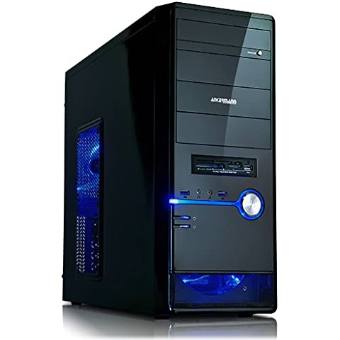 Ankermann-PC NEW Big KING, Intel Core i7-5820K 6x 3.30GHz, Zotac GeForce GTX 1060 3GB, RAM DDR4 8GB PC2133, 2000 GB Disco Duro, -, Scythe KATANA 4 CPU Cooler, Card Reader, EAN