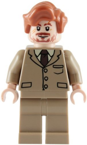 LEGO Harry Potter: Profesor Lupin (Bronceado Traje) Minifigura