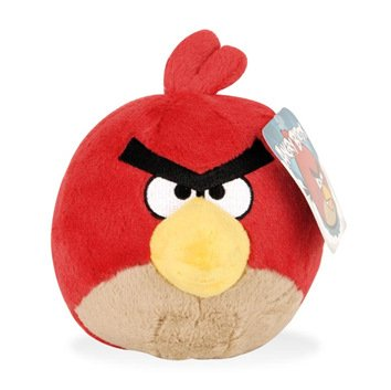 "Angry Birds - Red Bird 6 ""/ 15cm Medium Plüschtier"