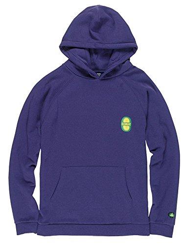 Element Uomo Yawye Felpa con Cappuccio/Hoodie Aura Purple