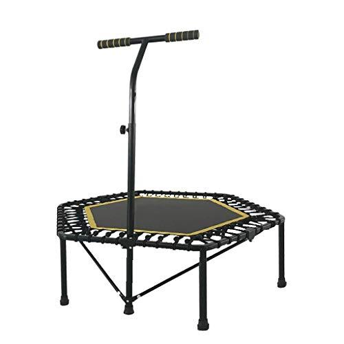 SONGDP Springmatte Rebounder Bouncer Safety Round Flexibles Trampolin, Fitness-Trampolin for Erwachsene, geräuschloses und sicheres Bungee-Seilsystem, for den Innen- und Außenbereich mit verstellbarem