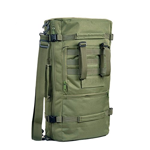 Tactical Military Trekking Camping Wandern Rucksack Rucksack Tasche 60L Schwarz