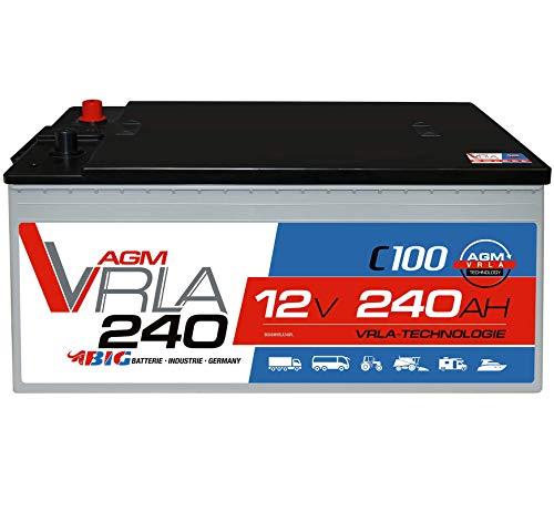 BIG AGM 240Ah 12V Solar Batterie Versorgung Mover Caravan Boot statt 220Ah 230Ah