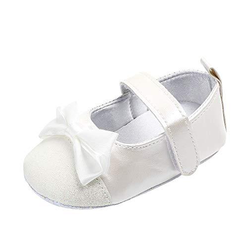 Turnschuhe Kleinkind Schuhe Babyschuhe Mädchen Tanzschuhe Ballerinas Leder T-Strap Schuhe Lauflernschuhe Mädchen Krabbelschuhe Streifen-beiläufige Wanderschuhe LMMVP