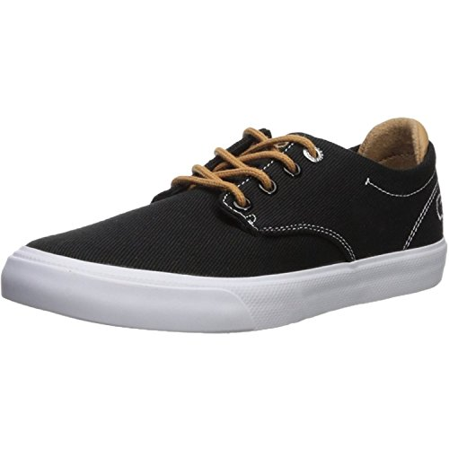 Lacoste Esparre 218 1 Schwarz/Bräunen Segeltuch 35.5 EU (Braune Lacoste Schuhe)