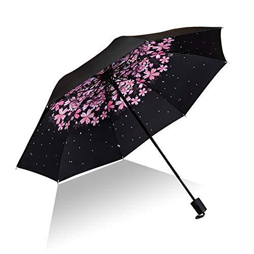Paraguas Compacto, Paraguas Plegable Prueba Viento